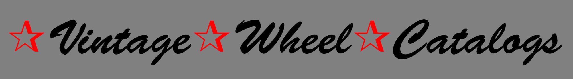 Vintage Wheel Catalogs